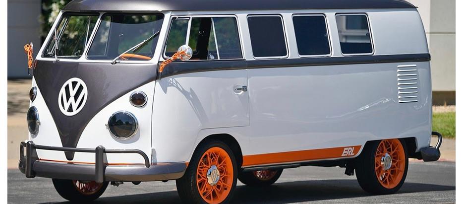 Volkswagon Debuts Electric Campervan
