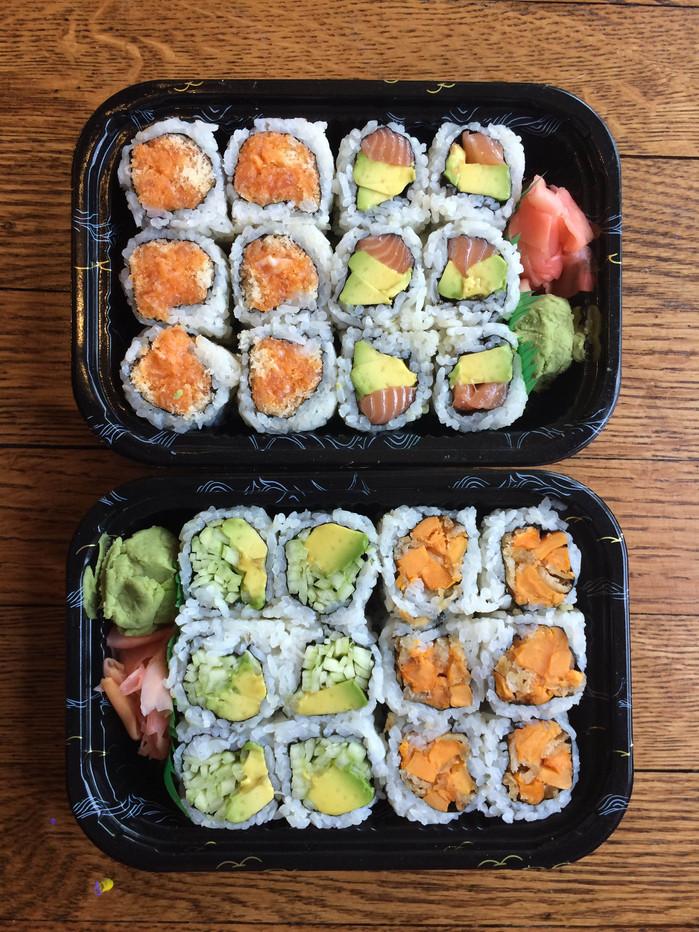 "sushi x: ""sushi. EX."""