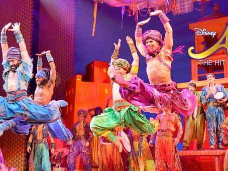 "Disney's ""Aladdin the Musical"" 11/8"