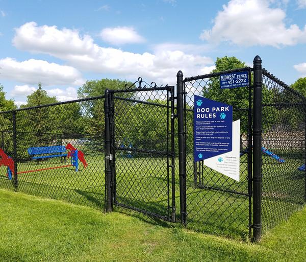 Branded Dog Park Rules