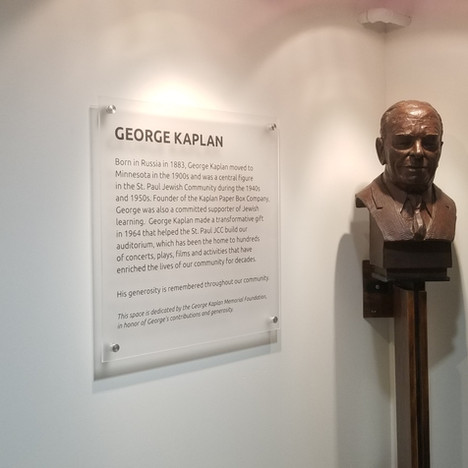 Bust and History of George Kaplan