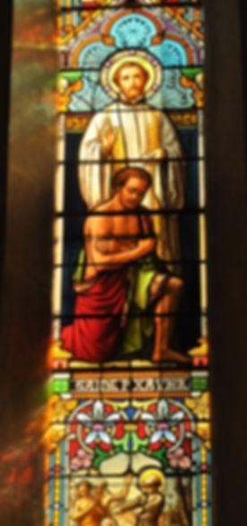 Vitrail Saint-Xavier église Saint-Mauric