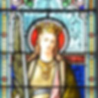 Vitrail Sainte-Catherine église Saint-Ma
