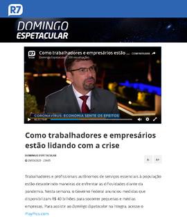 2903 - TV Record - Programa Domingo Espe