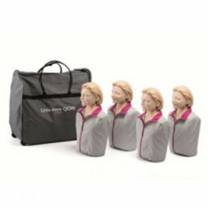 Laerdal Little Anne® QCPR Training Manikin Pack of 4