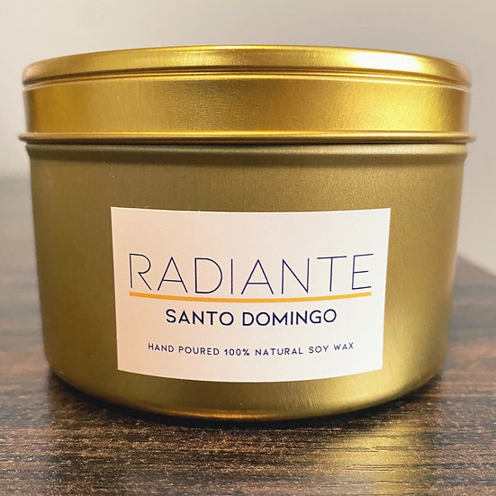 Gold 8oz Candle Of The Month