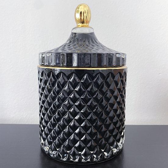 Black & Gold Luxury 16oz Candle