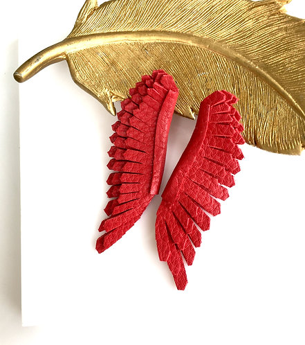 Milly Angel Wings in red