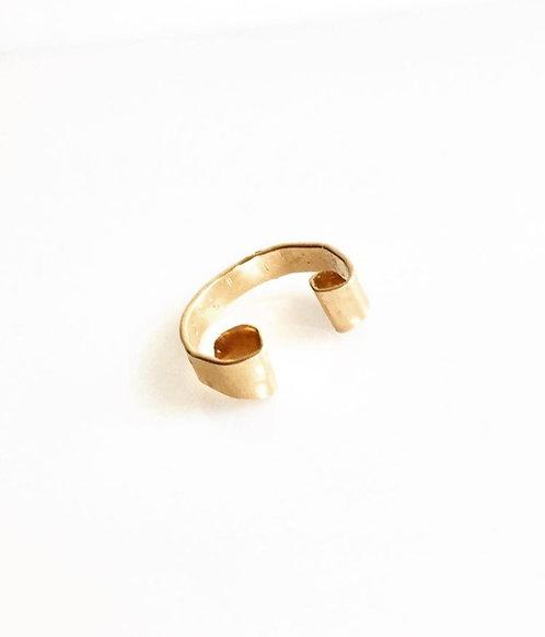 Mia K gold ear cuff
