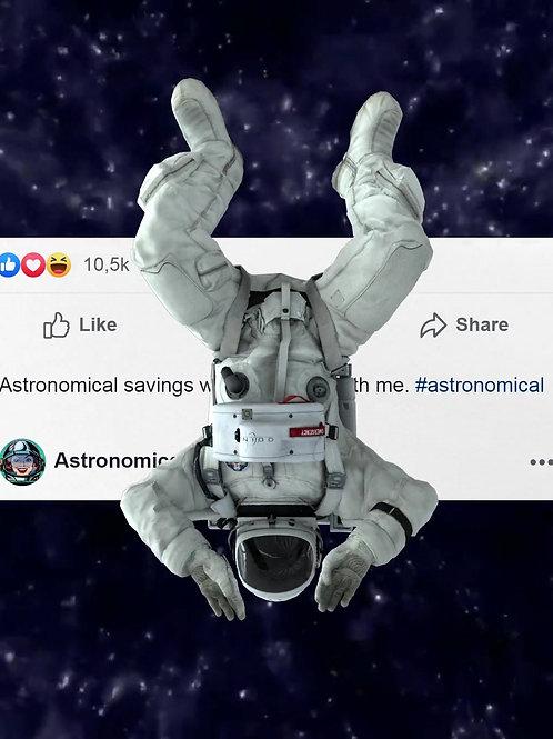 Astronomical Savings
