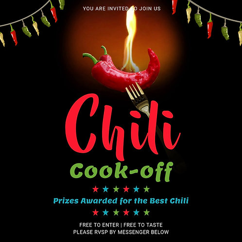 Black Frame Chili Cook Off