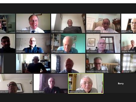 Neleus Lodge ZOOM Meeting