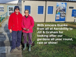 Jil and Graham - Aerobility