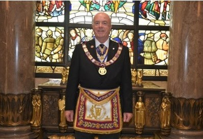 RWPGM Tom Quinn-Provincial Grand Lodge of Mark Master Masons of London
