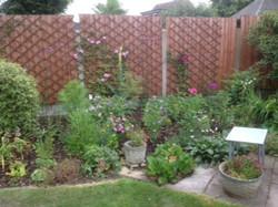 Brenda Stook - Back of garden