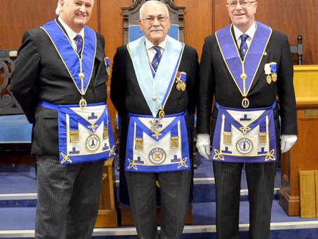 3 Secretaries of Erdemont Lodge!
