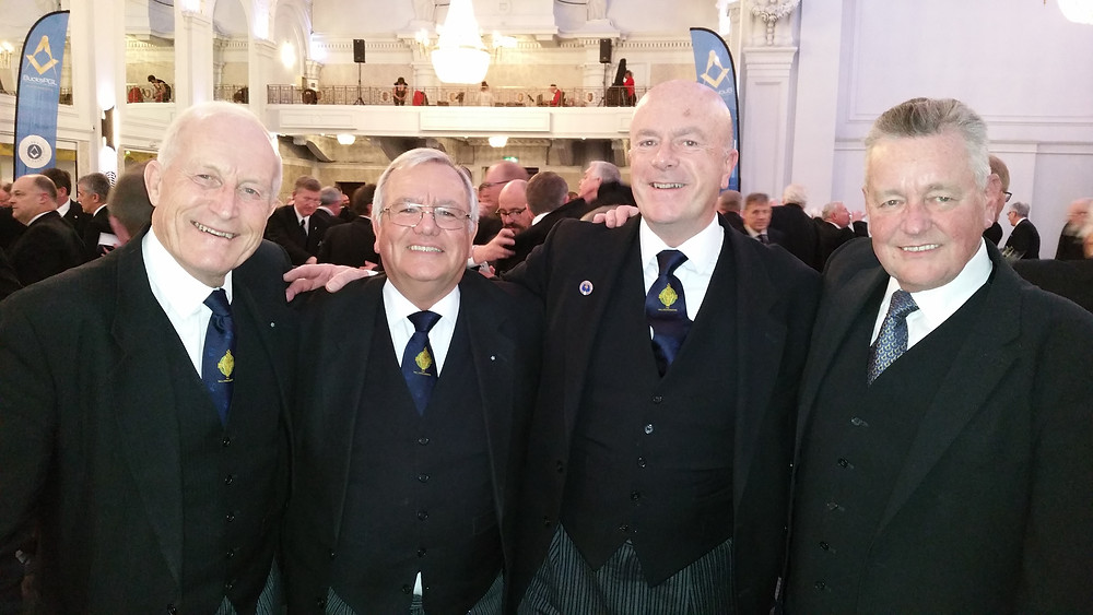 VW Bro. Cliff Drake and W. Bros Ron Howell, Tom Quinn & Henry Hobson