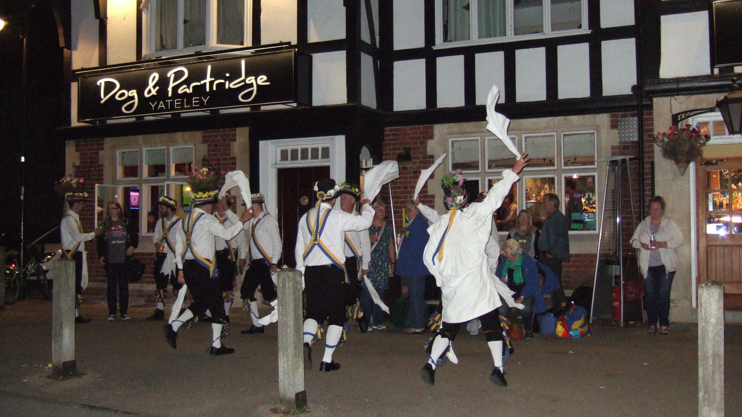 The Yateley Morris Men at The Dog and Pa