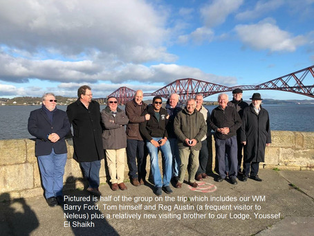 Tom Quinn - Scotland Masonic Trip