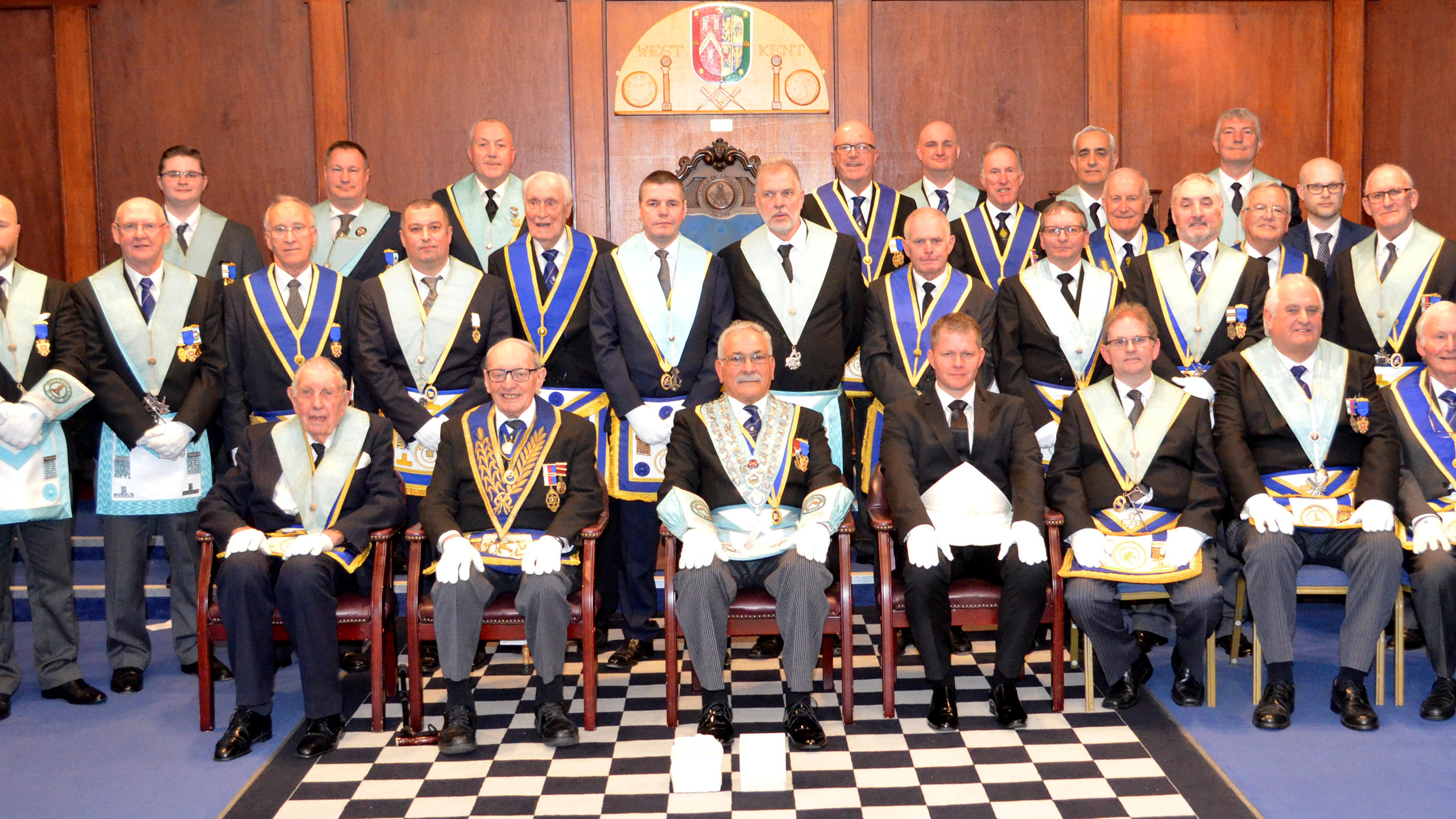 Members at 75th Anniversary