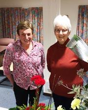 Flower arranging with Margaret Finch