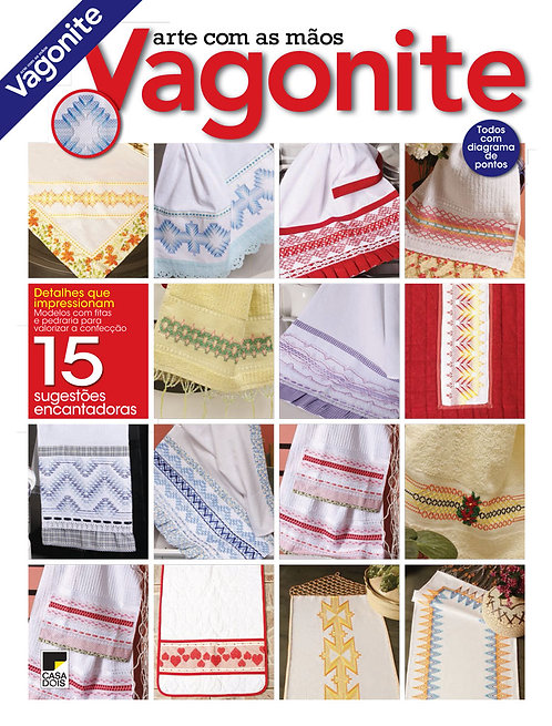 revistas de artesanato, revista artesanato vagonite, revista digital