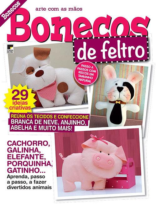 Bonecos de Feltro 01