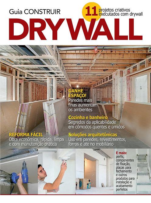 revistas de arquitetura, revistas de decoração, revista digital, construção, drywall, parede de gesso, gesso acartonado