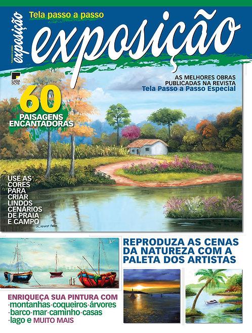 revistas de artesanato, revista de arte, revista digital, pintura em tela