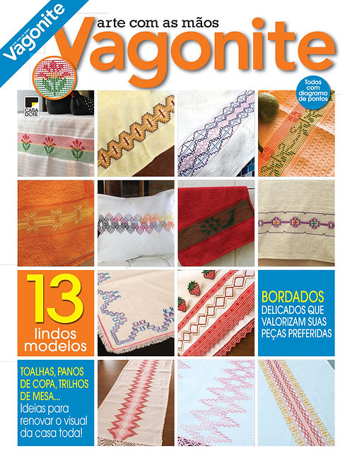 revistas de artesanato, revista artesanato vagonite, revista digital