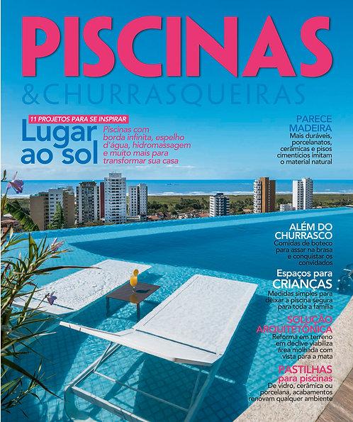 piscina de fibra, churrasco, piscinas de alvenaria, construção de piscinas, revista digital