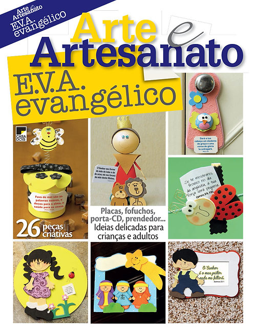 revistas de artesanato, revista de EVA, revista digital, evangélicos