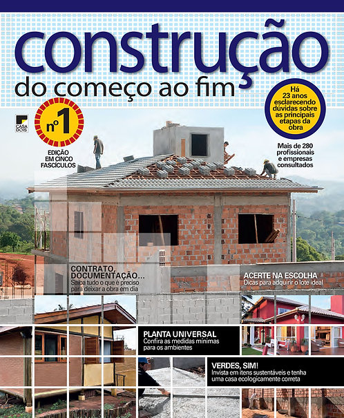Construção do Começo ao Fim 01 - 2021