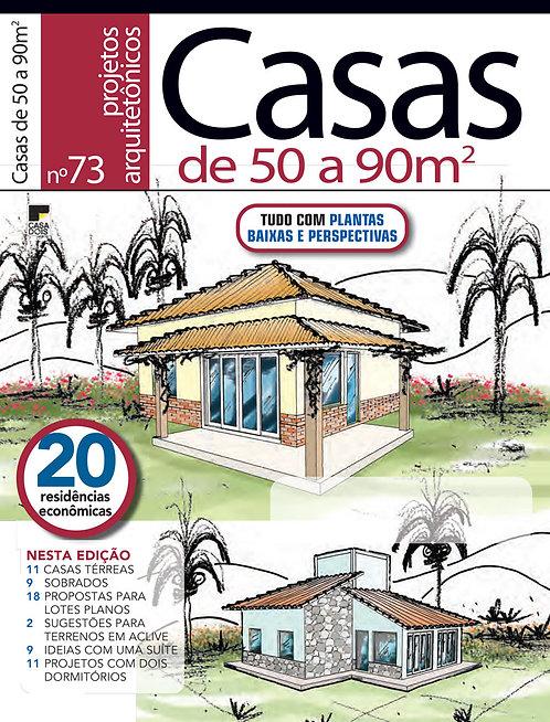 Casas de 50 a 90 m²