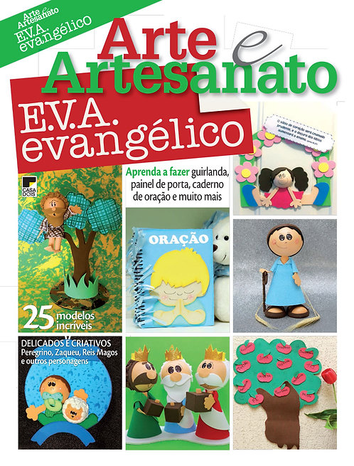 revistas de artesanato, revista de aplique, revista digital