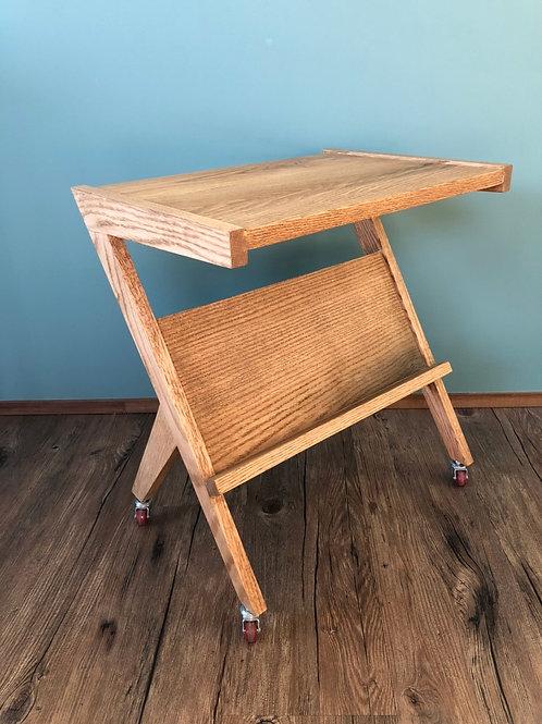 BI Oak Side Table