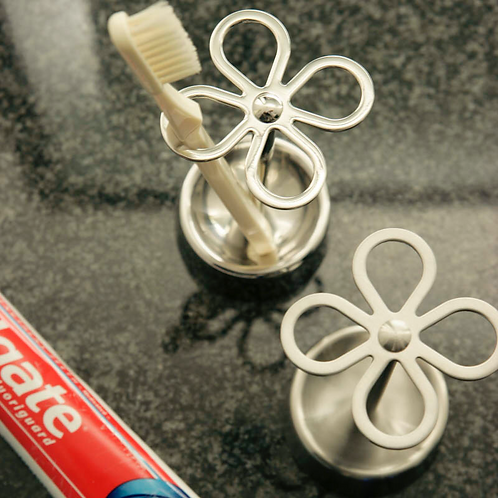 4-Holes Toothbrush Holder