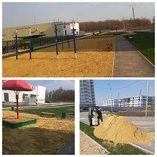 Благоустройство (завоз песка) в песочниц