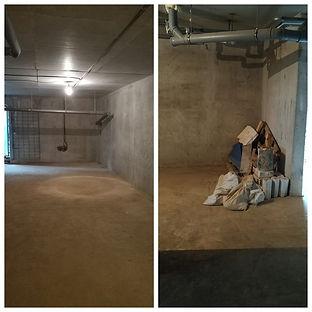 очистка подвальных помещений от мусора.j