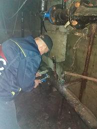 Замена затворов системы отопления кал 81