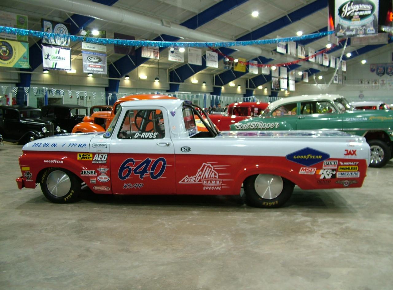 61 Ford Bonneville Racer