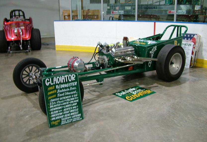 60 Chassis Research Dragster