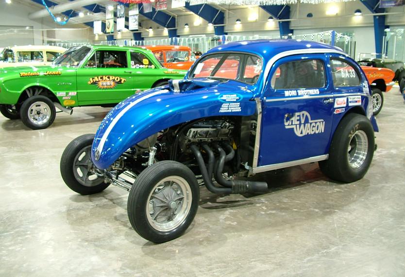 56 VW Chevwagon