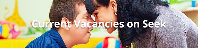 Current Vacancies on Seek