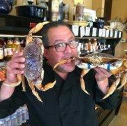 Mark eatig Crabs