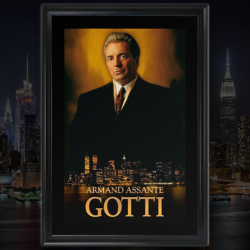 Gotti poster signed by Armand Assante
