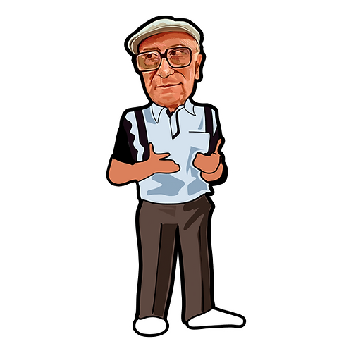 Mr. Magoo Sticker