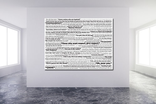 White Quote Wall
