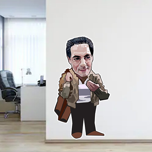 The Jacket Wall Decal