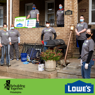 Lowes Team Modify the Home of Local Veteran